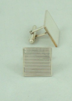 Cufflinks (Stripe Square)